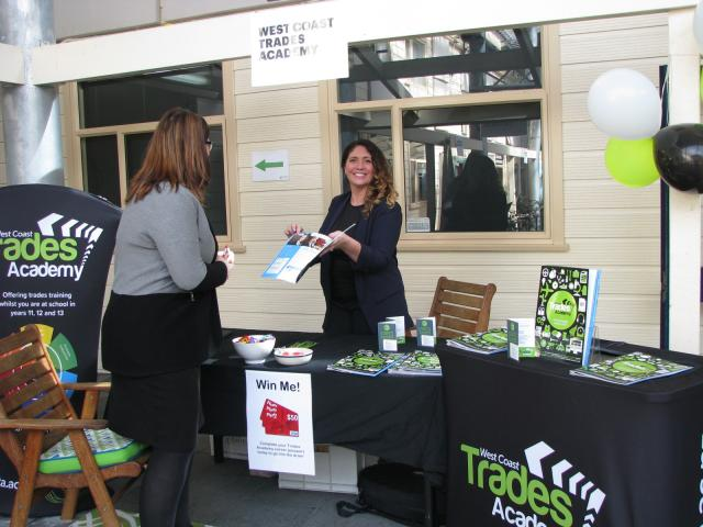 Careers Expo image Tania Washer West Coast Trades Academy