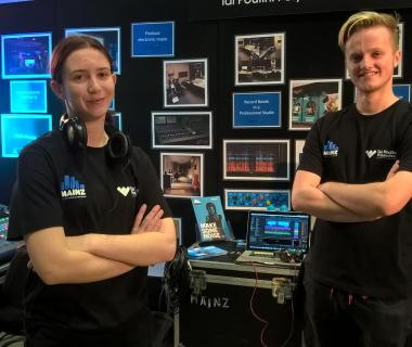 2016 careers expo stall
