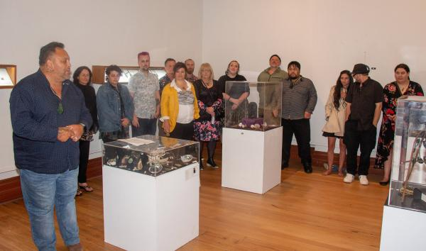 TPPs David Mason opening the 2020 Hard Stone Jade Carving Students Exhibition v5